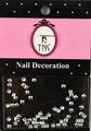 Silver Metal Square Nail Art Beads Flatback Studs 2MM (50PCS)