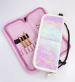 Nail Brush & Implement Storage Wallet/Stand (Available in Rainbow Pink & White)
