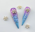 Lips Lipstick Cosmetics Nail Art Charms  Example of Use