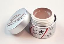 Simply Colour UV/LED Nail Gels (Hard Gels). Au Natural (Warm Sand)