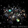 Skull Crystals. 3D Nail Art Jewellery Rhinestone Crystal Mix 5gm Pot.