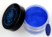 INM NORTHERN LIGHTS HOLOGRAPHIC BLUE GLITTER ACRYLIC POWDER