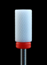 White Ceramic Master Cross-Cut Large Barrel Nail Drill Bit (Fine)
