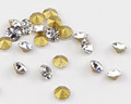 Crystal Clear Glass Chaton V Rhinestones for Nail Art Decoration (100PCS Per Bag) - SS16 (3.8mm)