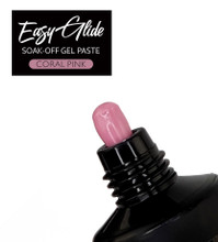 Easy Glide Soak-Off UV/LED Gel Paste For Nails (HEMA FREE) - Coral Pink 30gm