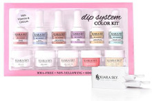 NEW Kiara Sky Dip System Colour Starter Kit + RECYCLING SYSTEM