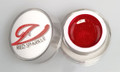 Simply Coloured UV/LED Nail Gel (Hard Gel) 5ml - Red Sparkle (Glitter)