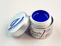 Simply Coloured UV/LED Nail Gel (Hard Gel) 5ml - Blue Suede Shoes