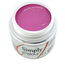 Simply Coloured UV/LED Nail Gel (Hard Gel) Miami Collection 5ml - Cha Cha Cha (Pink)