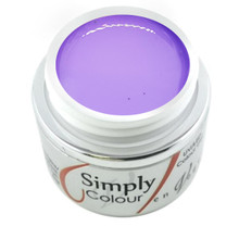 Simply Coloured UV/LED Nail Gel (Hard Gel) Miami Collection 5ml - Purple Haze