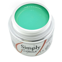 Simply Coloured UV/LED Nail Gel (Hard Gel) Miami Collection 5ml - Palm Breeze (Green)