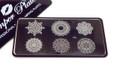 Pamper Plates Professional Nail Stamping Plates - Design #42 (Large Ornate Mandala Designs)
