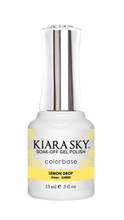 Kiara Sky Jelly Gel Polish 15ml - G4005 LEMON DROP