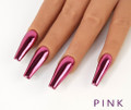 Pink Chrome Nail Pigment Powder