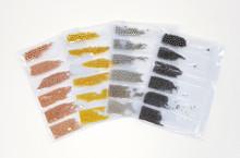 Nail Art Caviar Metal Bullion Beads in Bags (6 Sizes) - Gold, Silver, Rose Gold or Gunmetal Grey