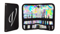 En Vogue Professional Nail Gel Brush Kit + Wallet (Black & Holographic)