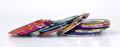34PCS Bulk Mixed Coloured Striping Nail Art Tape (1MM)