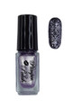 Pamper Polish Nail Stamping Plate Polish Mini 5ml - Metallic Lilac Purple