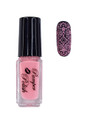 Pamper Polish Nail Stamping Plate Polish Mini 5ml - LIGHT PINK
