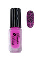 Pamper Polish Nail Stamping Plate Polish Mini 5ml - HOT PINK