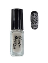 Pamper Polish Nail Stamping Plate Polish Mini 5ml - BEIGE/NUDE/NATURAL