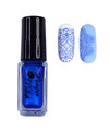 Pamper Polish Nail Stamping Plate Polish Mini 5ml - BLUE PEARL