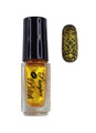 Pamper Polish Nail Stamping Plate Polish Mini 5ml - PEARL GOLD