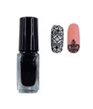 Pamper Polish Nail Stamping Plate Polish Mini 5ml - BLACK