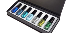 7PCS Pamper Polish Nail Stamping Plate Polish Cool Colour Stamping Collection in DIsplay Box