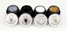 Spider Gel Nail Art (Silver, Gold, Black, & White)