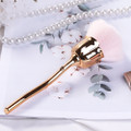 Rose Gold & Pink Chrome Nail Dust Cleaning Brush