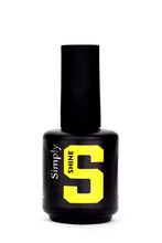 Simply Shine UV/LED Clear Top Coat Hard Gel (No Wipe!) - 15ml Bottle