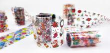 Christmas Xmas Nail Art Transfer Foil Set (10 Designs Per Box)