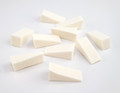 10PCS X Nail Art Sponge Wedges - Great for Ombre Nails & Chrome Pigments!