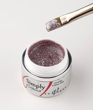 Simply Coloured UV/LED Nail Gel (Hard Gel) 5ml - Champagne Rose
