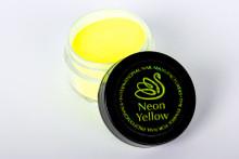 INM Northern Lights Holographic Neon Yellow Glitter Acrylic Nail Powder 15gm