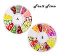 Fruit Salad Fimo Nail Art Wheel (12 Fruits)