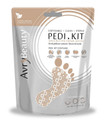 Avry All-In-One Disposable PEDI Kit with Shea Butter Socks (Waterless & Disposable)