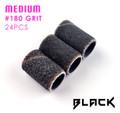 Black Sanding Bands Medium #180 Grit