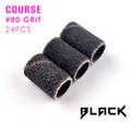 Black Sanding Bands Course #80 Grit