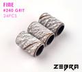 White Zebra Sanding Bands - FINE #240 GRIT