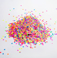 Mixed Neon Matte Nail Glitter for Nail Art 3mm (10g Bag)