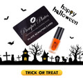 Pamper Polish Nail Stamping Plate Polish Mini 5ml - HALLOWEEN ORANGE (Limited Edition)