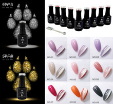 14PCS X TNS Jelly Gel Polish Colours Collection + GOLD & SILVER CAT EYE + FREE DUO Base & Top with Magnet