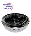 Belava Trio Pedicure Footspa - Silver Glitter Base (Includes Black Tub & 20 Disposable Liners)