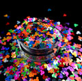 TNS Coloured Mouse Glitter Mix for Nail Art -  1oz Bag