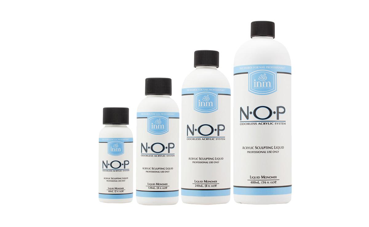 INM N O P Odorless Acrylic Liquid Monomer 2oz (60ml,118ml