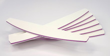 BULK White Harbour Bridge Nail Files (Pink Core) 150/150. Professional Files for Acrylic & Gel