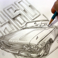1960 Impala Convertible Design