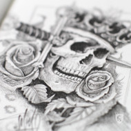 """""""Suicide King"""" design by OGABEL"""